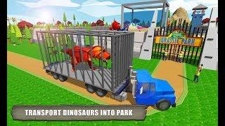 모바일 게임 쥬라기 공원 만들기 공룡으로 동물원을 만들거에요 다만들면 자동차를 타고 구경도 할수 있어요 간단 리뷰 플레이 영상