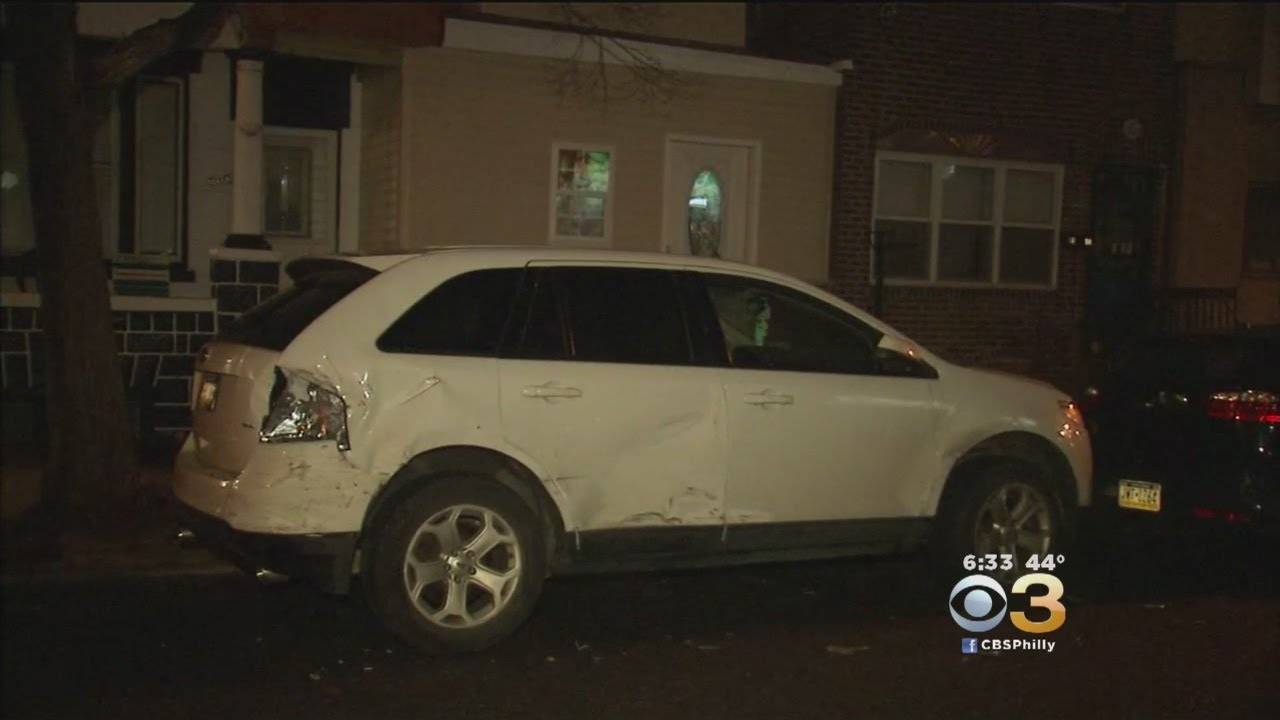 Police: Suspected Drunk Driver Hits Numerous Parked Vehicles In South Philly