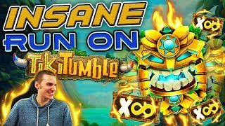 INSANE RUN on Tiki Tumble Slot - £4 Bet