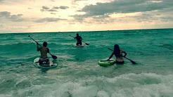 Paddle Boarding in Miami Beach