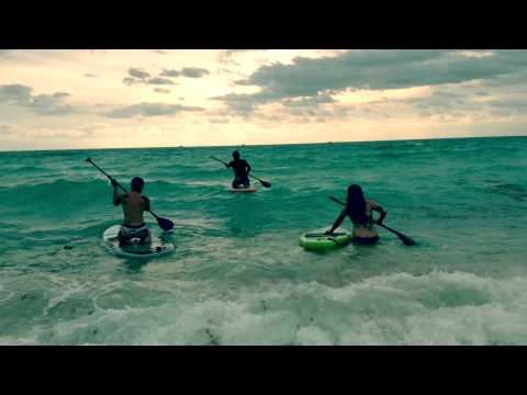Paddle Boarding in Miami Beach