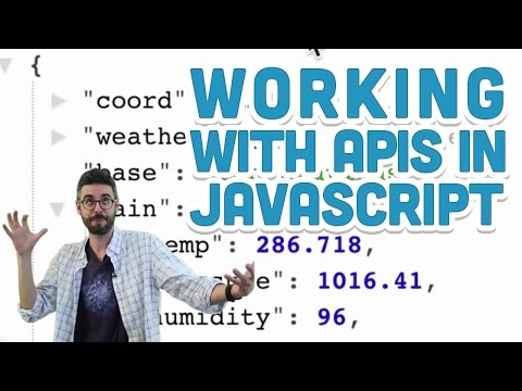 8.5: Working with APIs in Javascript - p5.js Tutorial
