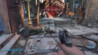 Fallout 4 Waffentest (.44 Missle Pistole)