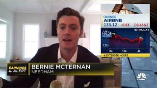 Needham's Bernie McTernan on Airbnb's pricing power