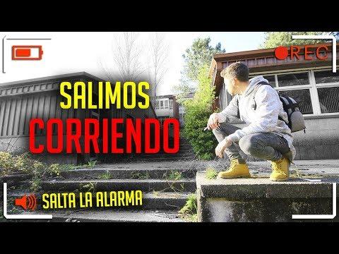 Entramos en un COMPLEJO ABANDONADO y SALIMOS CORRIENDO!!