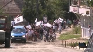 Felvonulás - XVI. ODFIE Színjátszó Találkozó, Magyarsáros, 2012. augusztus 2.