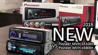 НОВАЯ! Процессорная магнитола Pioneer MVH-S510bt VS Pioneer MVH-x580bt