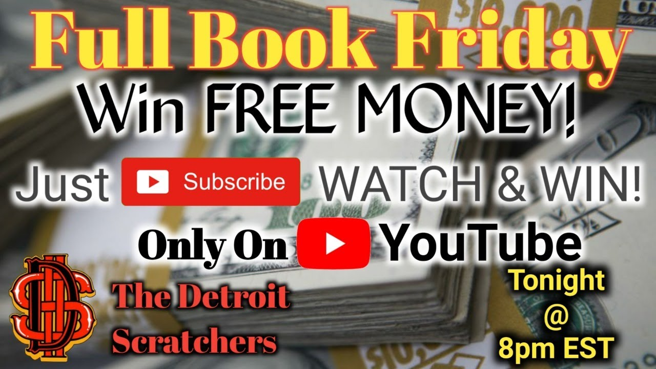 FULL BOOK FRIDAY (On a Thursday!!) $ Let's Get That Claimer! $ WIN FREE MONEY $ MUST WATCH!
