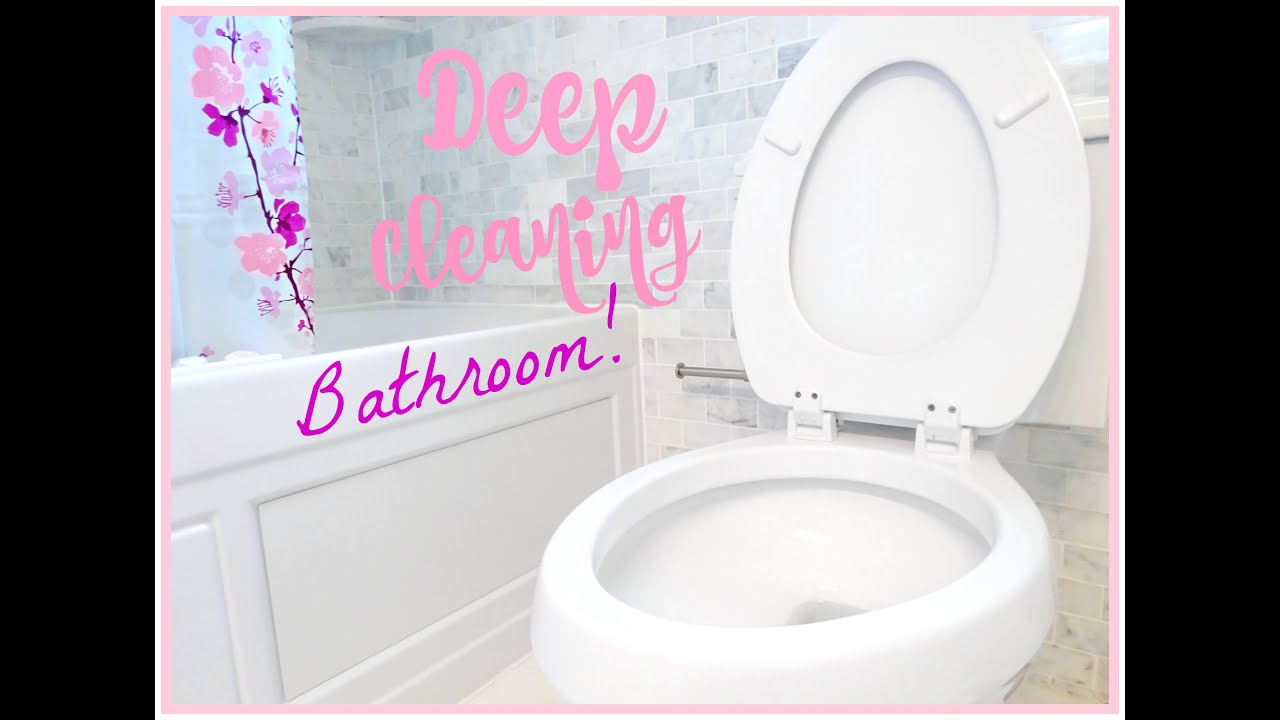 Ordinaire DEEP CLEANING ROUTINE! BATHROOM!