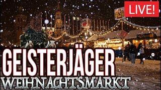 Geisterjäger auf Weihnachtsmarkt Moers