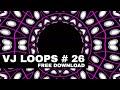Club Visuals VJ loops 26 Free Download Full HD 1080p