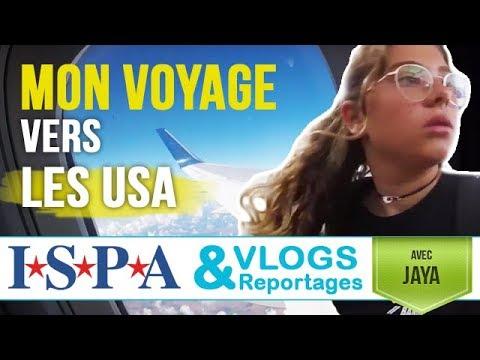 Mon voyage vers les #USA - Vlog #1 - Jaya avec ISPA