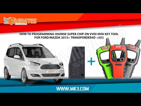 Programming Xhorse Super Chip On Ford Tourneo 2015.