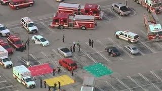 Raw: Several People Shot at Houston Strip Mall by : Associated Press