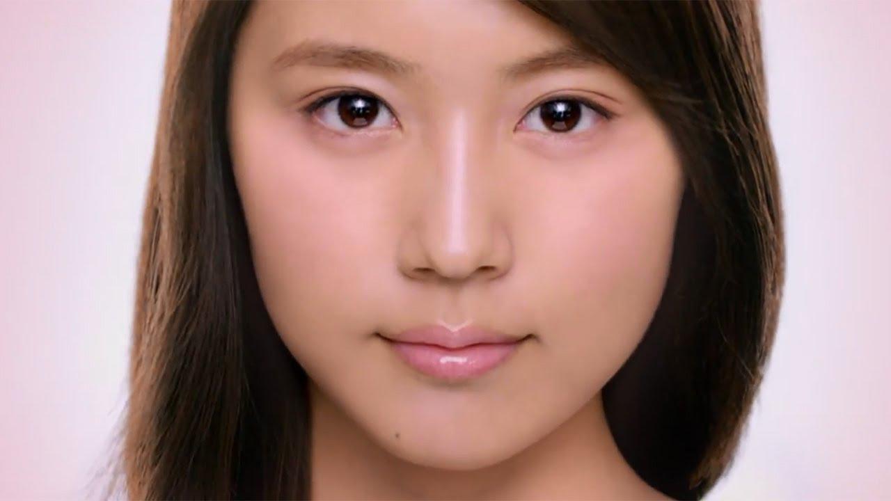 有村架純 顔アップ 有村架純の美しい肌をクローズアップ!「SK-2」新CM「肌の運命を、変えよう。新・オーラ美白。」 - YouTube