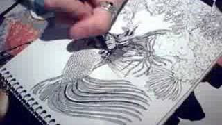 Speed Drawing - under the sea
