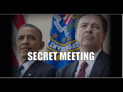 JUST IN! FEDERAL LAWSUIT FILED TON OBTAIN RECORDS RELATED TO SECRET COMEY & OBAMA MEETINGS!