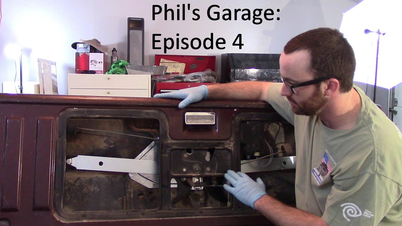 Converting a K5 Blazer or GMC Jimmy Tailgate from Power to Manual Window  YouTube