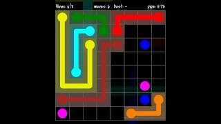 Flow Free - 8X8 Mania Walkthrough - Level 58