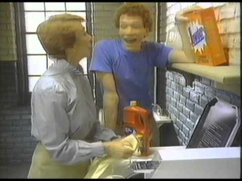1983 Wisk Detergent Ring Around the Collar Commercial
