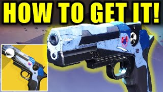 Destiny 2: How to Get the TRAVELER'S CHOSEN Exotic Sidearm! | Season of Arrivals