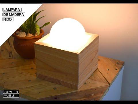 hacer MaderaHow to make Lampara de a wood Como lamp MVzUpS
