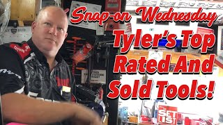 SNAP-ON WEDNESDAY - Tyler's Top Sold And Favourite Tools!!