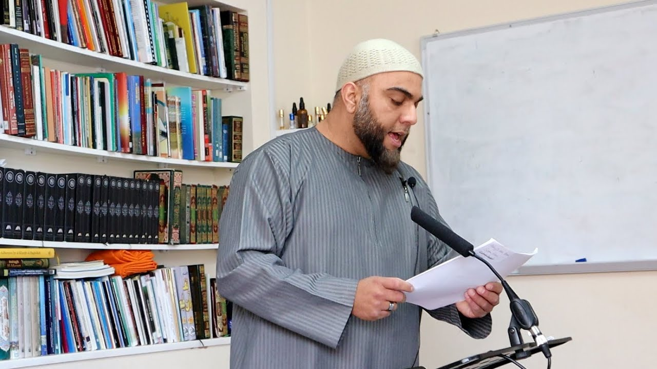 Lessons from Prophet Esa (عَلَيْهِ ٱلسَّلَامُ) by Brother Harun Abdur Rashid Holmes
