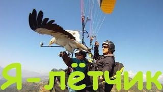 Я - лётчик | Параплан и орёл | MikeRC 2017 FHD