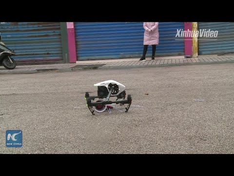 Drones Used In Coronavirus Prevention In Hunan, China