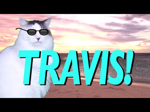 Happy Birthday Travis Epic Cat Happy Birthday Song