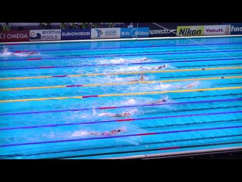 4x200 Freestyle Relay Women, Final. Swimming World Championships BCN 2013. USA Gold Medal