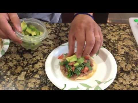 One Way We Make: BEEF CHALUPAS / TOSTADAS