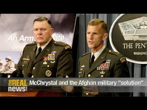 "McChrystal and the Afghan military ""solution"" Pt1"