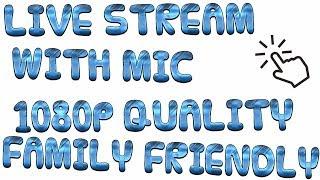 ROBLOX | #14 | ROBLOX LIVE STREAM & Musik Cuss Free 1080p