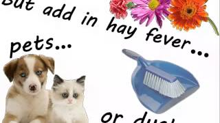 Kids and hay fever Thumbnail
