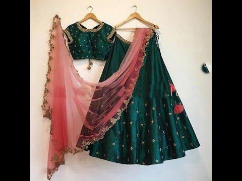 Stylish Indian Lehnga choli designs/party wear lehnga designs/color combination for stylish lehnga