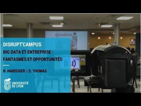 Conférence - Big Data et entreprise : fantasmes et opportunités
