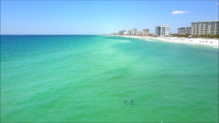 Destin Florida Beach Day By Drone
