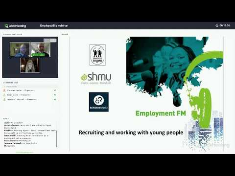 Webinar: recruitment & working with young people