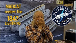 Peter Madcat introduces the SEYDEL 1847 LIGHTNING at the NAMM show 2020