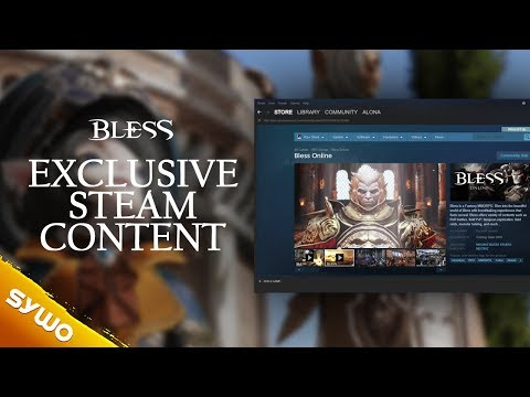 BLESS Online | Early Access and exclusive Steam content for EU/NA