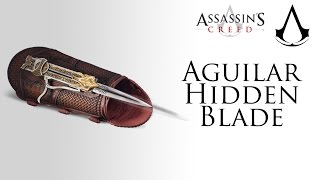 Assassin's Creed Movie   Ubisoft - Aguilar Hidden Blade Replica Review