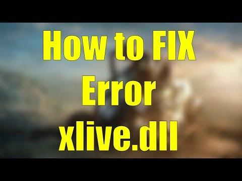 Fallout 3 sexus xlive dll Fix Windows 7 5360 Xlive dll