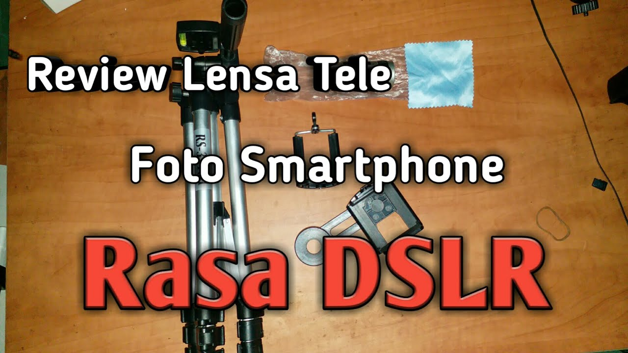 Review lensa tele untuk smartphone rasa kamera dslr efek blur