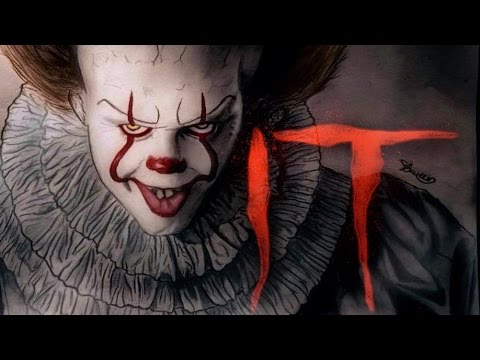 It 2017 pennywise speed drawing