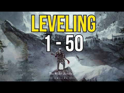 Leveling 1-50 Guide: Top 5 BEST Ways to Level Up in Elder Scrolls Online  (ESO)
