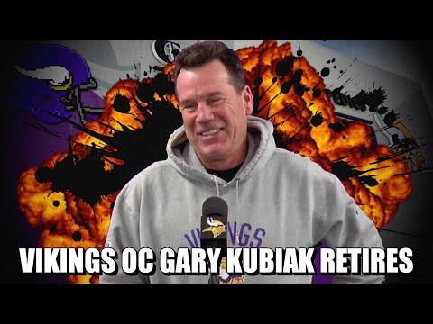 Vikings Offensive Coordinator Gary Kubiak Retires. Now What?