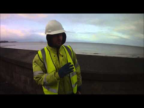 People in North Wales #13 - Friendly construction worker