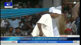 Osun Guber Election: APC Holds Mega Rally Pt.8